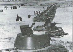 Una compagnia di M13/49 in Nord-Africa