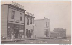 RP: Ritz & Coblentz Hardware Store on Main Street , LOCKWOOD , Saskatchewan , Canada , 00-10s - Delcampe.com