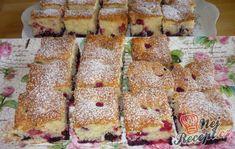 Ovocná bublanina našich babiček | NejRecept.cz Gluten Free Cookies, Gluten Free Desserts, German Baking, Relleno, Sweet Tooth, French Toast, Sandwiches, Bakery, Deserts