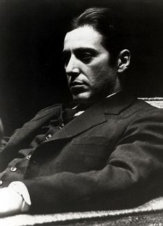 Al Pacino. Will stop at Nothing for his Family. Any sacrifice is worth it. Any vengeance is fair ball.