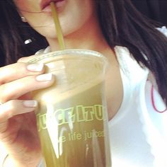 Your body is a temple, make it shine. Take the lead from Jennifer Irene, Maxim Model, who gets her daily dose of wellness with a custom blend of carrot, kale, lemon, pineapple, spinach & ginger raw juice from Juice It Up!
