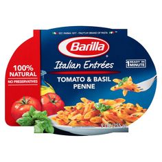 penne with tomato basil sauce 9 oz barilla penne with tomato basil ...