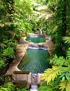 Hidden Valley Springs - natural hot spring pools in Laguna, Philippines