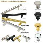 ∅12mm Brass Stainless Steel T Bar Kitchen Cabinet Door Handles Pull Knobs Handle | eBay