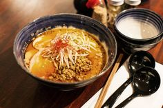 Ross Shonhan from Bone Daddies - Tantanmen Ramen