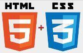 HTML5 + CSS3 logó