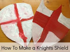Playful Learners: How to make a Saint George's Day Shield