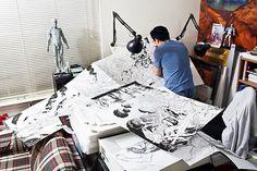 Frank Cho, Comic Artist