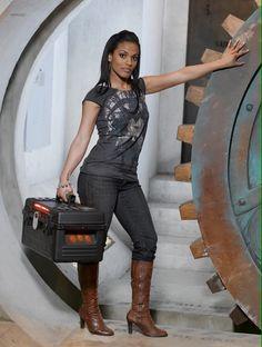 Freema Agyeman as Martha jones ( doctor who & torchwood
