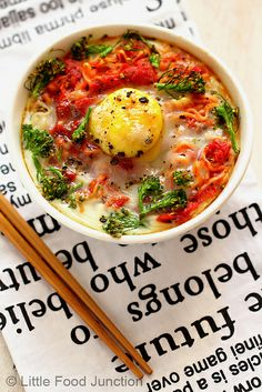 Baked Noodles with egg by Smita @ Little Food Junction, via Flickr