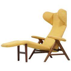 Lounge Char by W.H. Klein for Bramin