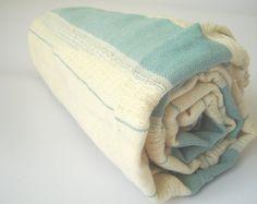 Turkish Bath Towel Peshtemal Beach Spa Yoga Towel by TheAnatolian, $29.00