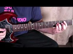 The Darkness - I Believe In A Thing Called Love - How to Play on Electric Guitar - Guitar Lessons - YouTube