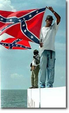 Personally, I think the Confederate Flag looks real cool and a whole lot of other blacks agree with me. Southern Heritage, Southern Pride, Southern Charm, Southern Belle, Confederate States Of America, Confederate Flag, American Civil War, American History, American Soldiers