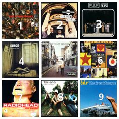 Best 90s album? // Mejor album de los 90? Folk, The Verve, Stone Roses, Hipster, Ocean, Baseball Cards, Music, Movie Posters, Culture