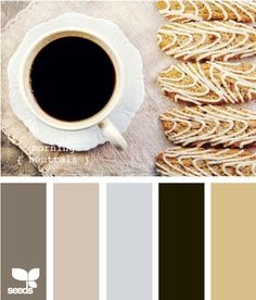 Beautiful neutral palette for blanket