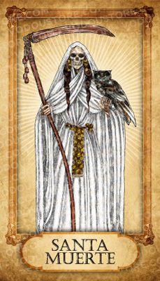 Prayer Card - Santa Muerte (Gratitude)