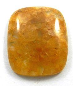31.50Ct 22x27mm Magicalcollection Yellow Aventurine Cushion Cabochon Gemstone #magicalcollection #gemstones #jewelry