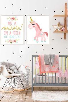 Een babykamer in unicorn thema, industriële stijl, colorblocking en nog veel meer met de babykamer trends van 2018! Lees het volledige artikel voor de babykamer trends en leuke tips!