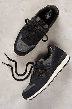 New Balance Capsule Metallic Sneakers