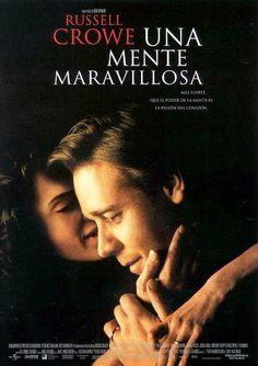 Una mente maravillosa es una película de drama biográfico estadounidense del año 2001, inspirada en la novela homónima de Sylvia Nasar que fue nominada al Premio Pulitzer de 1998 y, que cuenta la vida de John Forbes Nash, ganador del Premio Nobel de Economía en el año 1994. #Matematicas #cine