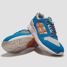 The #ASICSTiger x #Patta GEL-Respector - available in sizes US45-US13 at a retail price of 15000.  In store at Patta Amsterdam tomorrow. 11:00am sharp! by asicstigerhq