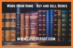 In Today's post you will learn how to make money buying and selling books. Selling used books or sell your self-publishing books. Sell Used Books, Sell Your Books, Got Books, Book Repair, Book Signing, Word Out, Any Book, Debt Free, Money From Home