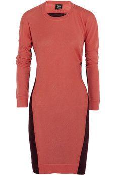 McQ Alexander McQueen Color-block wool dress | THE OUTNET