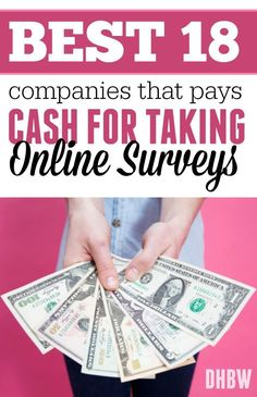 If you are looking for legitimate survey sites that pay cash for taking online surveys, here are a 18 companies to check out!