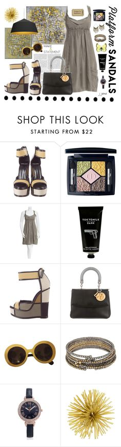 """""""Imitating Art"""" by jjanewatson ❤ liked on Polyvore featuring Gwyneth Shoes, Pierre Hardy, Christian Dior, TokyoMilk, Prada, ABS by Allen Schwartz, Journee Collection, Three Hands and Innermost"""