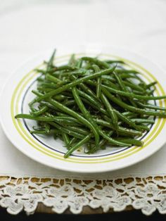 Lemony Green Beans | Vegetables Recipes | Jamie Oliver Recipes