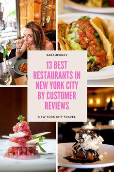 New York Travel Guide, New York City Travel, Restaurant New York, Restaurant Guide, Travel Guides, Travel Tips, Travel Destinations, Food Travel, Usa Travel