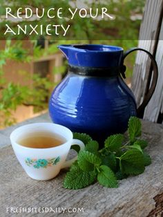 A slick tea for anxiety (so great that an entire hillside in the Sequoia National Forest is about to get covered with it)