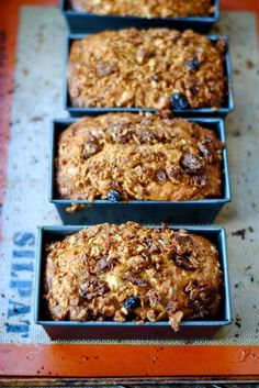 Granola Carrot Bread | A delicious healthy snack or awesome breakfast treat!