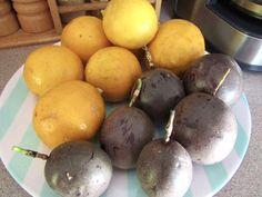 Passionfruit & Lemon