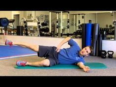 Gluteus medius exercise for knee, hip and low back issues - YouTube