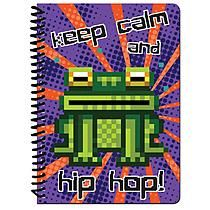 Markings by C.R. Gibson Calmhiphop 1 Subject Notebook