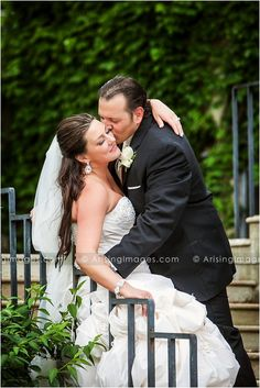 Stunning shot of the newlyweds. Simply beautiful. Best wedding photography in Michigan.