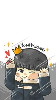 Ouhh my little boy♥ Kim Jinhwan, Chanwoo Ikon, Hanbin, Ikon Wallpaper, Cartoon Wallpaper, Bobby, Chibi, Ikon Songs, Ikon Kpop