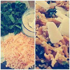 #süsskartoffeln #spiralschneider #frischerspinat #erdnüsse #parmesan #gewürze #lecker #schnell #gesund #selfmade #antitütenkochen #foodporn