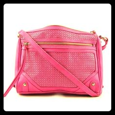 """New Jessica Simpson rose violet medium crossbody Jessica Simpson Katia Crossbody Women Pink Messenger   BRAND: Jessica Simpson   Condition:  New with tags (in packaging)   Brand/Style:  Jessica Simpson Katia Crossbody   Color:  Rose Violet   Material:  Faux Leather   Dimensions:  11"""" W x 9"""" H x 2.5"""" D   Shoulder Strap Drop:  22.0 in.   Sku:  2034177   Carry your belongings with ease in the Katia Crossbody bag from Jessica Simpson. Made of quality Faux Leather materials, this will keep your…"""