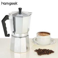 Aluminium Espresso Percolator/Stovetop Moka Pot Coffee Maker