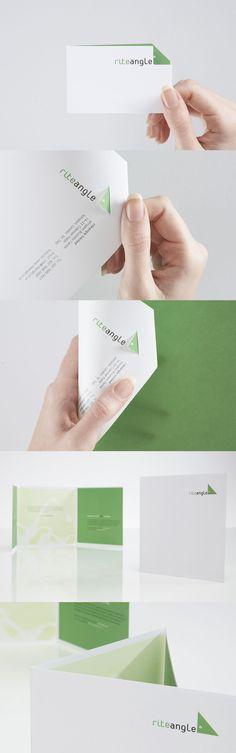 Rite Angle branding  Designed by: Whirligig Creative, London