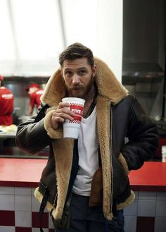 Mod Shearling Aviator Jacket  Via: menstyleworld
