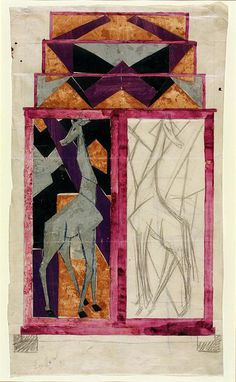 Design for a cabinet | Fry, Roger Eliot | VA Search the Collections