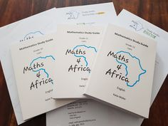 Are you ready for the new term? Order your Maths 4 Africa study guides today and you will be!  www.maths4africa.co.za