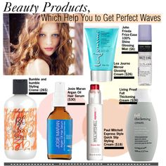 Beauty Products,Which Help You to Get Perfect Waves