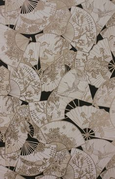The wallpaper Fanfare - from Matthew Williamson is a wallpaper with the dimensions x 10 m. The wallpaper Fanfare - belongs to the popular Aesthetic Iphone Wallpaper, Of Wallpaper, Pattern Wallpaper, Aesthetic Wallpapers, Cute Black Wallpaper, Asian Wallpaper, Chinese Wallpaper, Japanese Blossom, Japanese Art