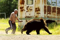 in soviet russia, you chase bear.