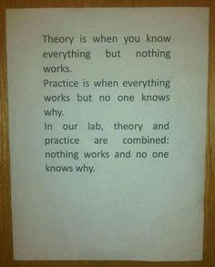 Theory + Practice